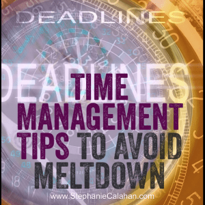 Major Meltdown in Time Management – Tips to Avoid it Happening To You