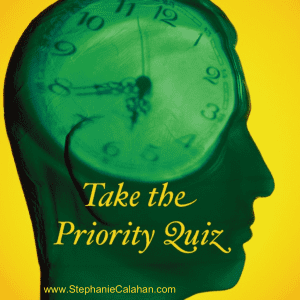 Your Priorities - Take the Quiz and See How You Do
