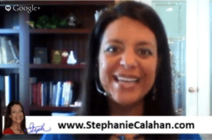 Stephanie Calahan Google Plus Hangout