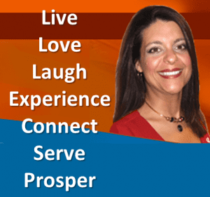 Stephanie LH Calahan live love laugh experience connect serve prosper