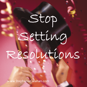 Alternatives to Annual Resolutions