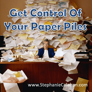 Gain Control of Your Paper Piles