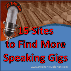 15 Sites to Find More Speaking Gigs