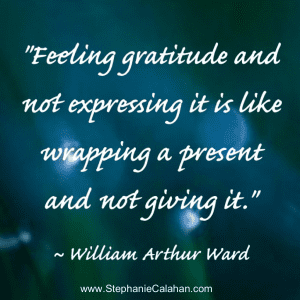 Gratitude - Tips to express thankfulness