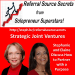 Referral Source Secrets Strategies for Joint Ventures
