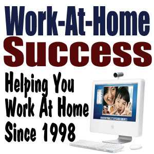 Work at Home Success podcast with leslie truex media room image