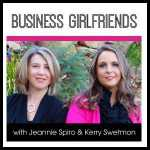Jeannie Spiro interviews Stephanie Calahan on Business Girlfriends