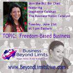 Freedom Based Business Chat with WendyY Bailey
