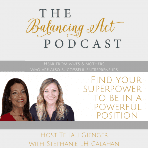 The Balancing Act Podcast Teliah Gienger